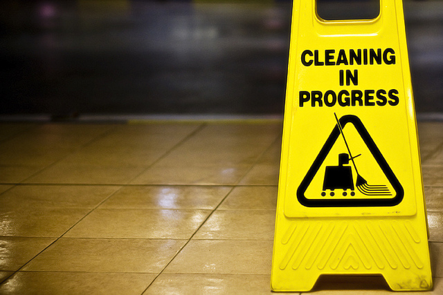 cleaning-sign